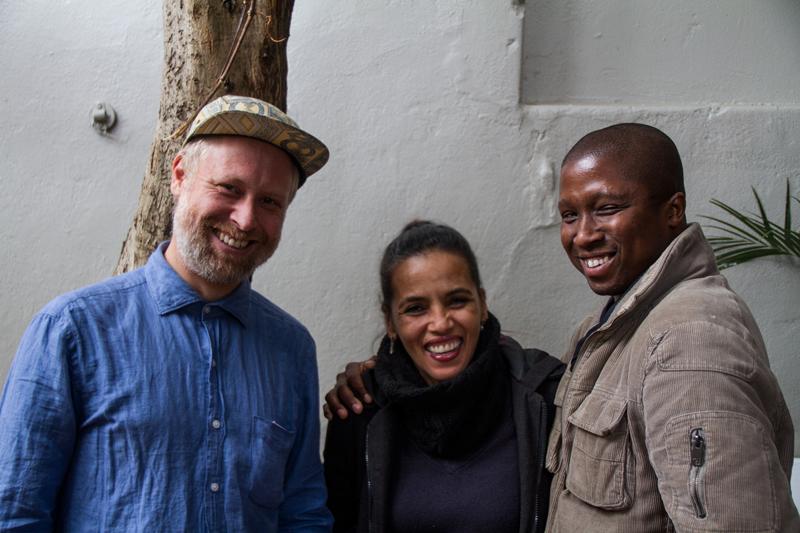 Golden Team: Iain Harris, Natasha Moses and Kabelo Michael Letlala ©David Peter Harris