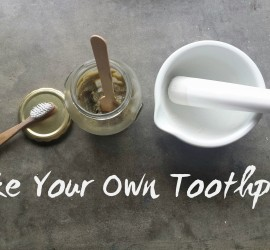 make your own toothpaste (Copy)